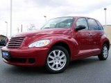 2007 Inferno Red Crystal Pearl Chrysler PT Cruiser  #7786361