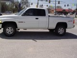 1998 Bright White Dodge Ram 1500 Sport Extended Cab 4x4 #7798174