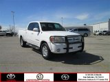 2005 Natural White Toyota Tundra Limited Double Cab #78076204
