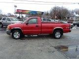 2005 Fire Red GMC Sierra 1500 Work Truck Regular Cab 4x4 #78076608