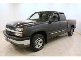 2004 Chevrolet Silverado 1500 LT Extended Cab 4x4 Front 3/4 View