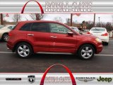 2008 Moroccan Red Pearl Acura RDX  #78076177