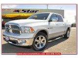 2010 Stone White Dodge Ram 1500 Laramie Crew Cab #78076480