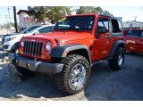 2012 Flame Red Jeep Wrangler Sport S 4x4 #78076563