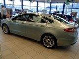 2013 Ice Storm Metallic Ford Fusion Hybrid SE #78076258