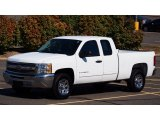 2012 Summit White Chevrolet Silverado 1500 LT Extended Cab #78076452