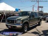 2004 Estate Green Metallic Ford F250 Super Duty King Ranch Crew Cab 4x4 #7801769