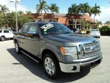 2011 Sterling Grey Metallic Ford F150 Lariat SuperCrew #78076240
