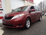2011 Salsa Red Pearl Toyota Sienna LE #78076664