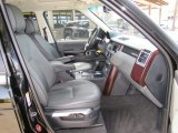 2007 Land Rover Range Rover HSE Charcoal Interior
