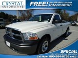 2009 Stone White Dodge Ram 1500 ST Regular Cab #78076648
