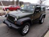 2009 Jeep Wrangler Jeep Green Metallic