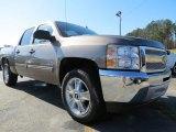 2013 Mocha Steel Metallic Chevrolet Silverado 1500 LT Crew Cab #78122027