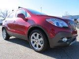 2013 Ruby Red Metallic Buick Encore Premium #78122025