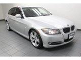 2010 Titanium Silver Metallic BMW 3 Series 335i Sedan #78122140