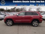 2014 Deep Cherry Red Crystal Pearl Jeep Grand Cherokee Limited 4x4 #78121908
