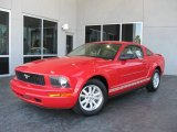 2007 Torch Red Ford Mustang V6 Premium Coupe #7786704