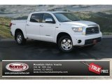 2008 Super White Toyota Tundra Limited CrewMax 4x4 #78121679
