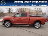 2013 Copperhead Pearl Ram 1500 Big Horn Quad Cab 4x4 #78121892
