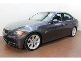 2008 Sparkling Graphite Metallic BMW 3 Series 335i Sedan #78121880