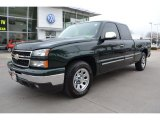 2007 Chevrolet Silverado 1500 Dark Green Metallic