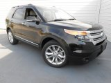 2013 Tuxedo Black Metallic Ford Explorer XLT #78121990