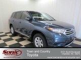 2013 Shoreline Blue Pearl Toyota Highlander  #78122175