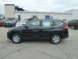 2013 Crystal Black Pearl Honda CR-V LX AWD #78122282