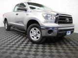 2010 Silver Sky Metallic Toyota Tundra SR5 Double Cab 4x4 #78122156