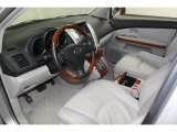 2008 Lexus RX 350 Light Gray Interior