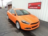 2013 Header Orange Dodge Dart SXT #78181401