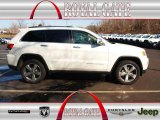 2014 Bright White Jeep Grand Cherokee Limited 4x4 #78181119