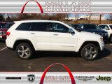 2014 Bright White Jeep Grand Cherokee Limited 4x4 #78181118