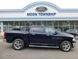 2012 True Blue Pearl Dodge Ram 1500 Big Horn Crew Cab 4x4 #78181225