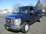 2008 Ford E Series Van Dark Blue Pearl Metallic