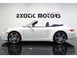 2008 Carrara White Porsche 911 Carrera 4S Cabriolet #78181381