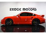 2012 Guards Red Porsche 911 Turbo S Coupe #78181380