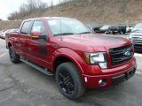 2013 Ruby Red Metallic Ford F150 FX4 SuperCrew 4x4 #78181213