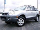 2004 Pewter Hyundai Santa Fe GLS 4WD #7786344
