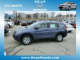 2013 Twilight Blue Metallic Honda CR-V LX AWD #78181319