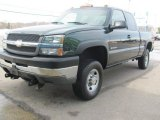 2003 Chevrolet Silverado 2500HD Extended Cab 4x4 Front 3/4 View