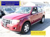 2009 Sangria Red Metallic Ford Escape XLS 4WD #78213704