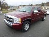 2008 Chevrolet Silverado 1500 Deep Ruby Metallic