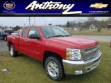 2013 Victory Red Chevrolet Silverado 1500 LT Extended Cab 4x4 #78214368