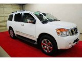 2012 Blizzard White Nissan Armada Platinum #78213903