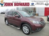 2012 Basque Red Pearl II Honda CR-V EX 4WD #78214237