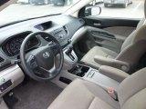 2012 Honda CR-V EX 4WD Gray Interior