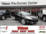 2012 Tuxedo Black Metallic Ford Focus SEL Sedan #78214441