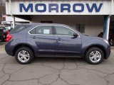 2013 Atlantis Blue Metallic Chevrolet Equinox LS AWD #78213879