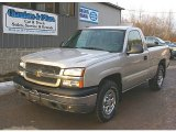 2005 Silver Birch Metallic Chevrolet Silverado 1500 LS Regular Cab 4x4 #78214011